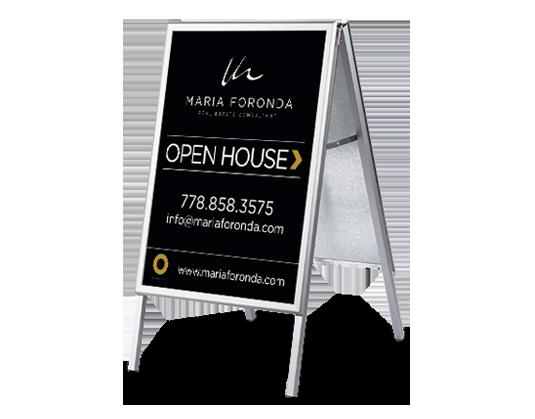 Open House Sandwich Board