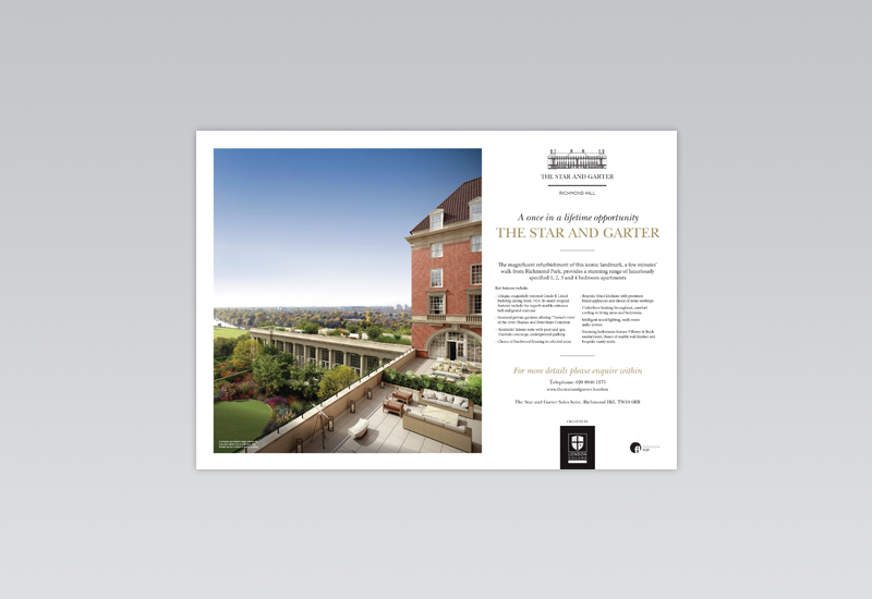 Star & Garter Window Card