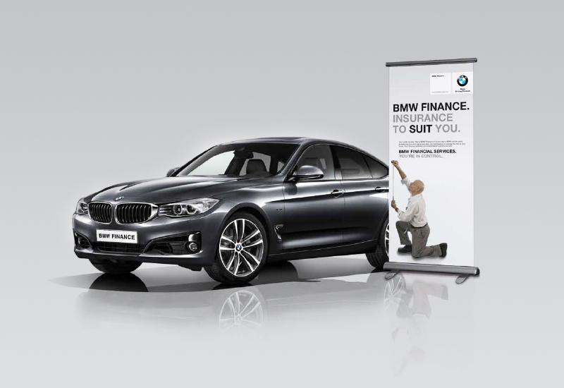 BMW Pull Up Adverting