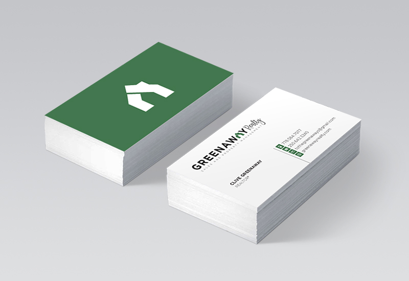 Greenaway Business Cards