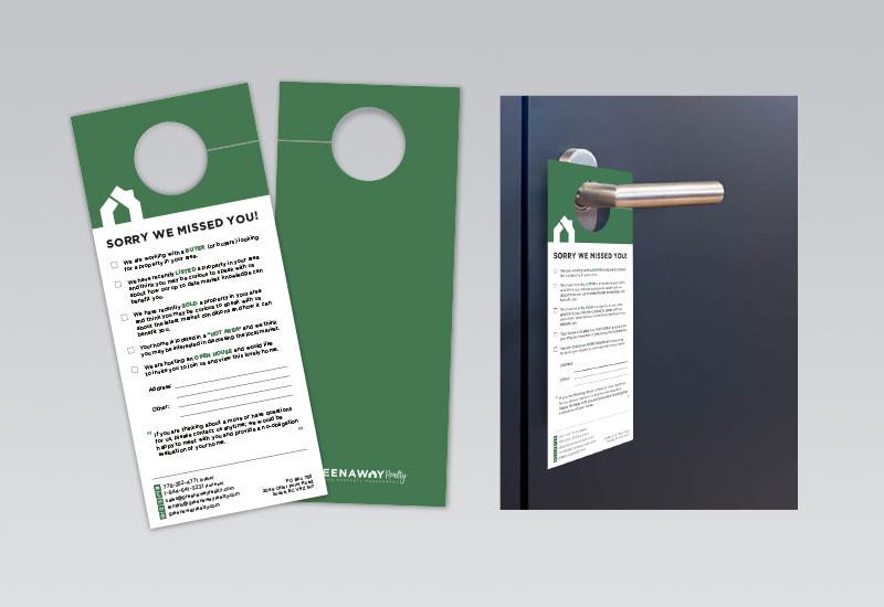 Greenaway Door Hanger