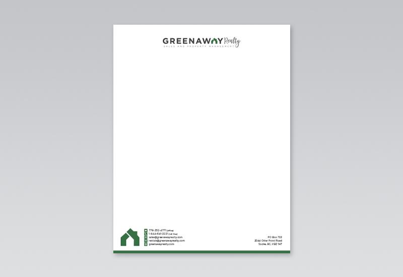 Greenaway Letterhead
