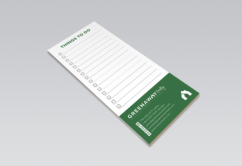 Greenaway Notepad