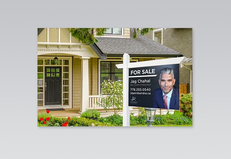 Jag & Sandra For Sale Sign