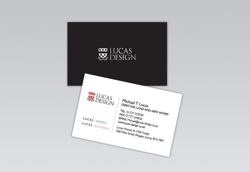 Lucas Design Business Card