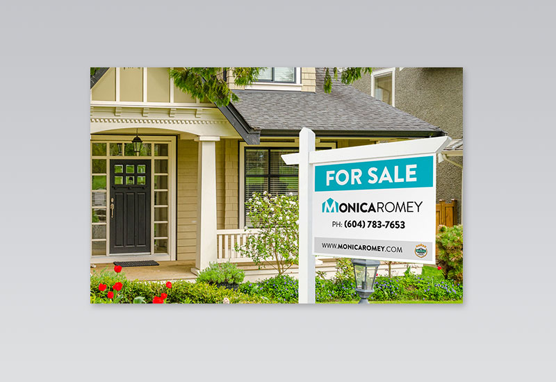 Monica Romey For Sale Sign