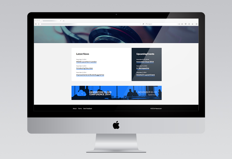 News Room Website