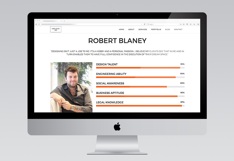 Robert Blaney Website