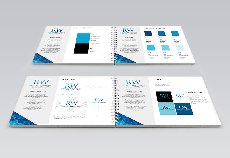 Ryan Weaver Brand Guidelines