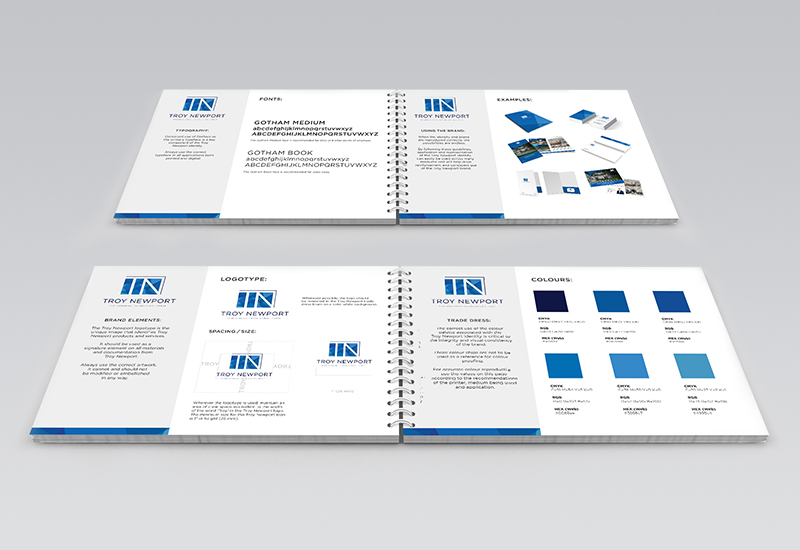 Troy Newport Brand Guidelines