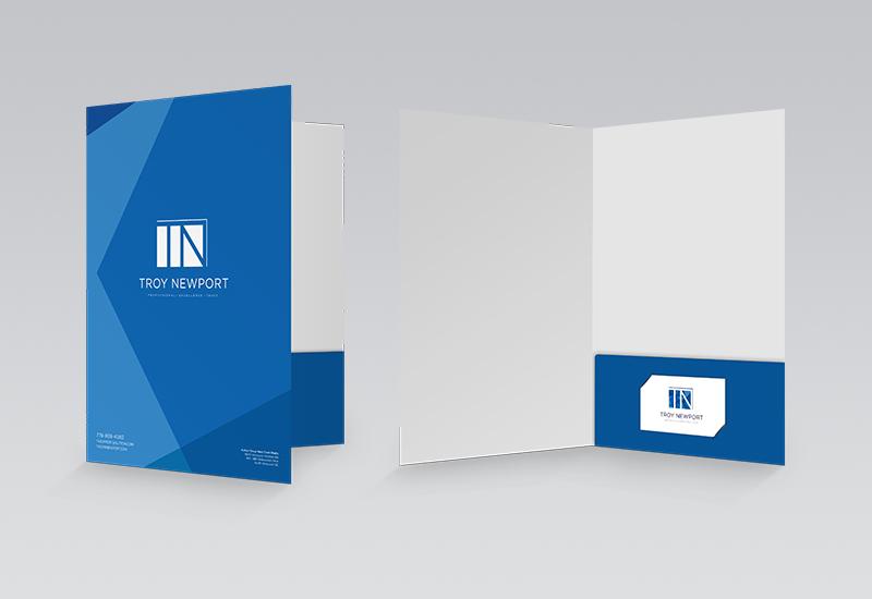 Troy Newport Presentation Folder