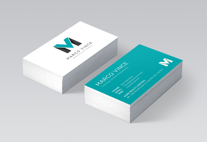 Marco Vince Business Cards