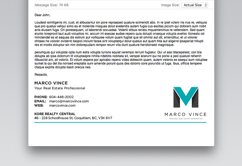 Marco Vince Email Signature