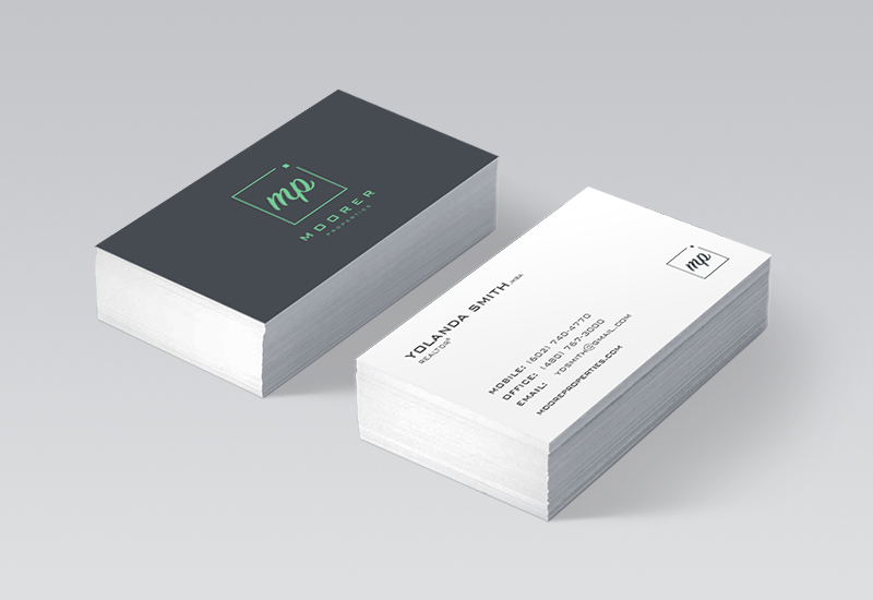 Moorer Properties Business Card
