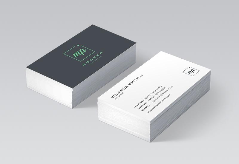 Moorer Properties Business Card