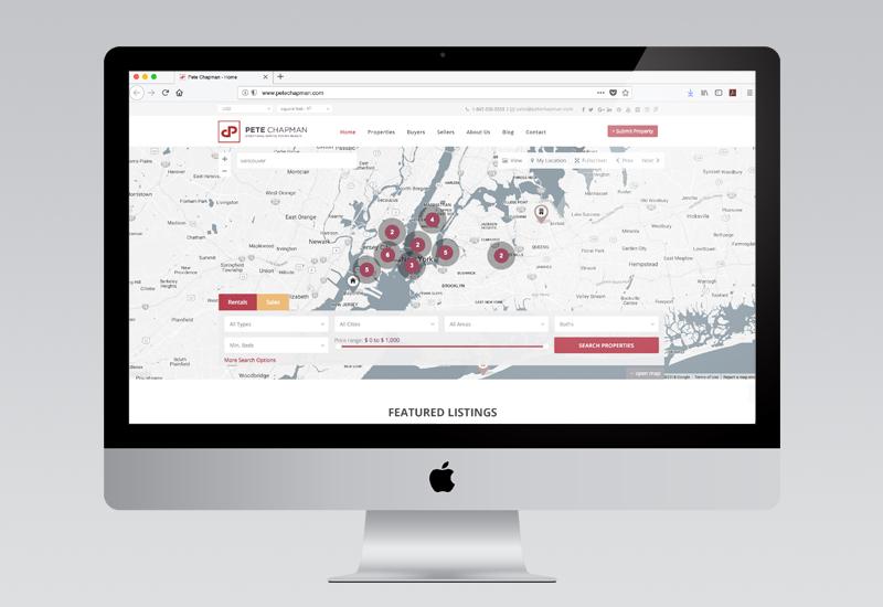 Pete Chapman Website Design