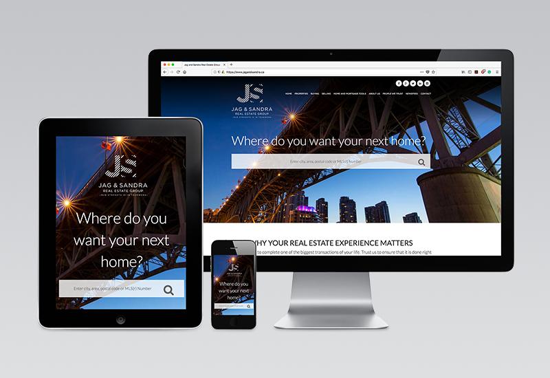 Jag & Sandra Website