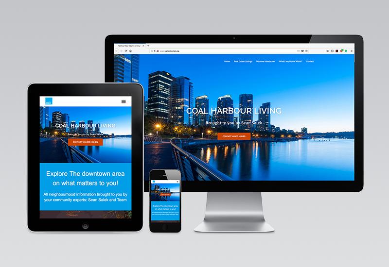 Vanco Homes Website
