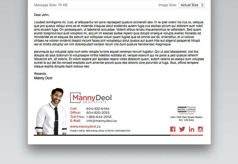 Manny Deol Email