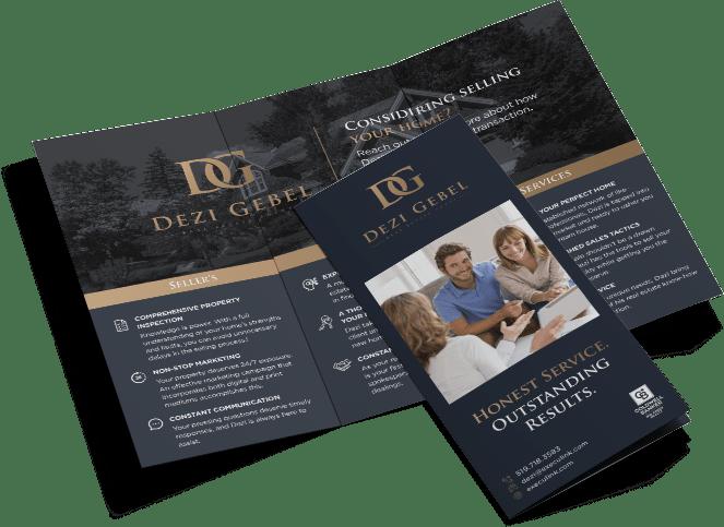 Dezi Gebel Tri-Fold Brochure